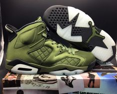 "85fb77648de294 Buy Air Jordan 6 Pinnacle ""Saturday Night Live"" Palm Green Palm Green-Black  New Release from Reliable Air Jordan 6 Pinnacle ""Saturday Night Live"" Palm  ..."