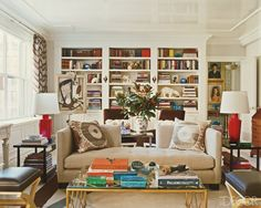 """Philip's own Manhattan apartment is featured in December 2009's issue of """"ELLE Decor""""."""