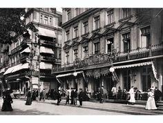 Unter den Linden ecke Friedrichstraße.. Cafe Kranzler..1905