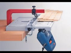 Precision Jigsaw Table - Jigsaw Table - Toolshop Made in Germany Lathe Tools, Wood Tools, Wood Lathe, Diy Tools, Woodworking Jigsaw, Woodworking Guide, Woodworking Projects, Best Jigsaw, Homemade Tables