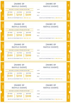 barbeque tickets template free download