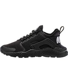 more photos c2819 beee1 Nike Air Huarache Ultra Breathe All Black Trainer Color is very monotonous,  but will not lose color, very fashionable.