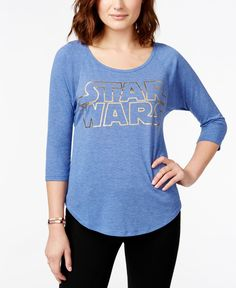 Juniors' Star Wars Foil Graphic T-Shirt from Hybrid