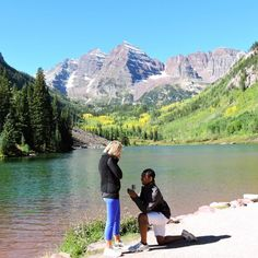 A Surprise Weekend Getaway Led to This Surprise Proposal Before a Dream Backdrop