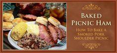 Smoked Picnic Ham, slider