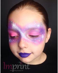 Galaxy Nebular Face Paint