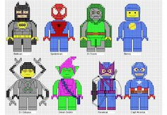 Minifigures Cross Stitch 3