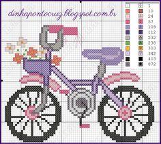 Cross Stitch For Kids, Cross Stitch Cards, Cross Stitch Flowers, Cross Stitching, Ribbon Embroidery, Cross Stitch Embroidery, Cross Stitch Patterns, Beading Patterns, Embroidery Patterns