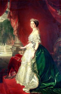 Empress Eugenie of France (1826-1920) wife of Napoleon Bonaparte III (1808-73) (oil on canvas) Posters & Prints by Franz Xaver Winterhalter