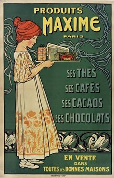 Thé, café ou chocolat ? Affiches à retrouver sur l'Atelier de tante Lucie