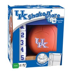 Kentucky Wildcats Shake 'n Score Travel Dice Game