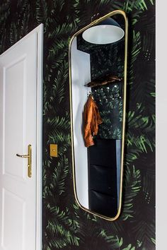 my scandinavian home: art deco touch in the hallway.