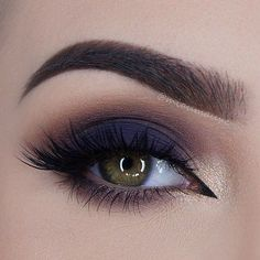 makeup, dark blue smokey eye, #blueeyemakeup