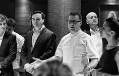 Our Executive Chef and Managing Director Scott Hallsworth addresses the staff