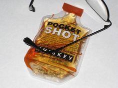 Pocket shot Whiskey