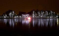 01-dez-12 - SÃO PAULO - BRASIL: Inauguração da fonte e da iluminação de Natal do Parque do Ibirapuera em SÃO PAULO. By UOL.