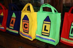 Creative Creations: Crayon Party Favor Bags