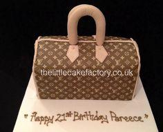 Designer Hand Bag Cake #Louis #Vuitton