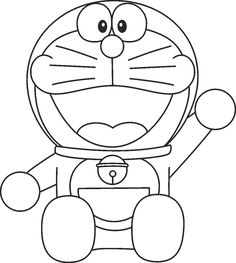 Doraemon With Nobita Colouring Pages Freen Download