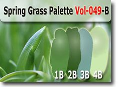 Spring Grass Palette by Polymer Clay Tutor