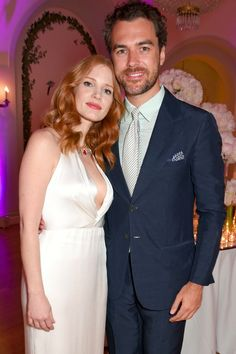 Jessica Chastain Marries Her Longtime Boyfriend in Italy