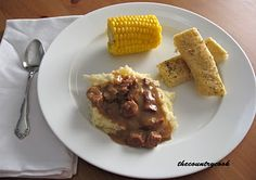 Slow Cooker Beef Tips Ingredients:  1 1/2 lb. beef tips (or cubed beef stew meat)*  1 package of dry Onion Soup Mix  1 can of Cream of Mushroom soup  1 can of Beef Broth