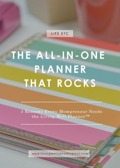 Still looking for a planner that can help you keep all the aspects of your busy life--and business--in order?  Don't miss this honest review from mompreneur Rachel Wojo, who shares in detail how she uses the Living Well Planner™ to stay on top of her game. via @lwsl