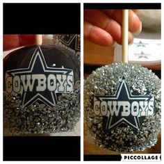 6 NFL Dallas Cowboys Candy Apples by SweetEdiblesLLC on Etsy
