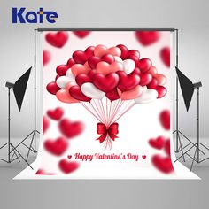 Valentine's Day Photography Backdrops Romantic by katehome2014