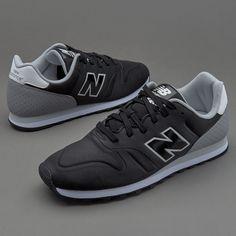 597, Running Homme, Noir (Black), 44.5 EUNew Balance