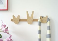 Coat rack by All Lovely Stuff, from Oeuf