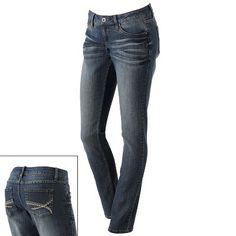 Mudd Santa Monica Skinny Jeans  sale: $23.99  Original: $40.00  Only at Kohls