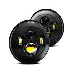 Our most popular LED Defender headlights. Led Headlights, Land Rover Defender, Campers, Electric, Bright, Popular, Vehicles, Cars, Camper Trailers