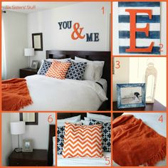 Six Sisters' Stuff: Master Bedroom Makeover on a Budget, how cute is that ?