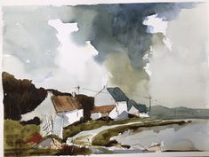 Posts about West coast of Ireland written by gmteece Watercolor Landscape Paintings, Watercolor And Ink, West Coast Of Ireland, Irish Landscape, Irish Cottage, Urban Sketching, Watercolor Techniques, Creative Art, Art Inspo