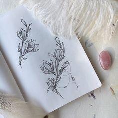 Crocuses На запястье/ребро/ключицу #tattoo sketches #veronicalilu by veronicalilu