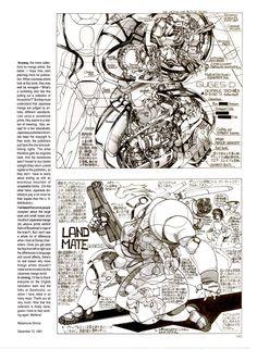 ykarps — rocketumbl:   士郎正宗 Masamune Shirow Old Anime, Anime Manga, Anime Art, Character Art, Character Design, Masamune Shirow, Japanese Robot, Sci Fi Comics, Cyberpunk Character