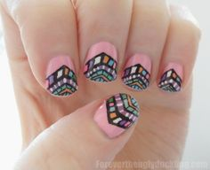 Detailed nails.