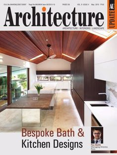 Architecture Update May 2015 Issue- Bespoke Bath & Kitchen Designs.  #ArchitectureUpdate #BathDesign #KitchenDesign