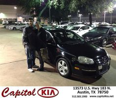 #HappyAnniversary to Michelle Jimenez on your 2008 #Volkswagen #Jetta Sedan from Robert Bills at Capitol Kia!