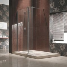 This Manhattan Hinged Wetroom Shower Enclosure not only looks super stylish but is practical, with 8mm glass and a lifetime guarantee. Quality & Style