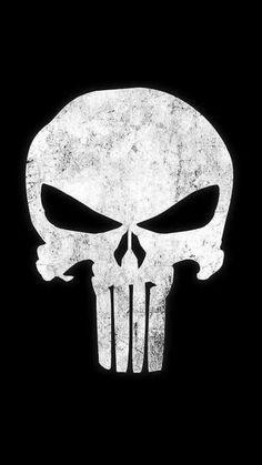 Shop Punisher Skull punisher skull t-shirts designed by Bevatron as well as other punisher skull merchandise at TeePublic. Punisher Marvel, Logo Punisher, Punisher Skull Tattoo, Daredevil, Marvel Art, Marvel Dc Comics, Marvel Heroes, Ms Marvel, Comics