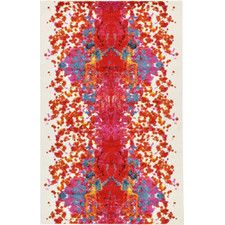 Lyon Red Area Rug