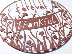 Emma: Mother's Day Paper Cut. Guest blog post for COES. Emma Daniels paper cutter.