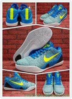 pretty nice d3d2b e76a9 chuteiras barata Masculino 677992-998 Nike Kobe 9 Elite Low Azul