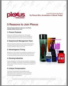 Life changing products.  Life changing opportunity.  Www.kcsmith.myplexusproducts.com #335588