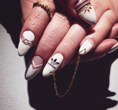 Day 172: Adidas & More Nail Art - - NAILS Magazine