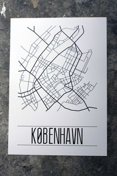 City Lines - København | #graphicdesign
