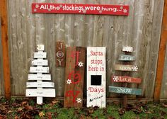 Rustic large joy sign reclaimed pallet wood by WehuntWoodDecor