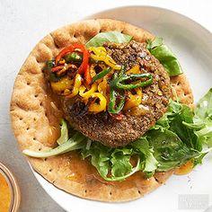 Lentil Veggie Burgers Prepare a big batch of lentils and use them for soups, salads, and burgers.